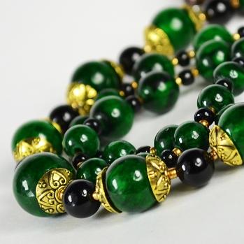 Изготовление ожерелья из камней